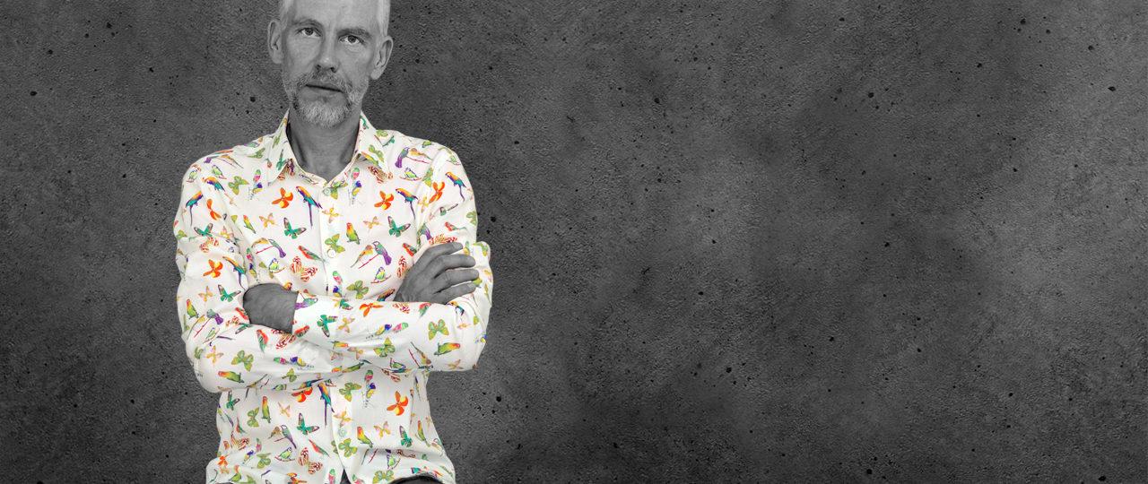 Herrenhemd Butterfly Summer - Paul von Alpen - fashion shirts