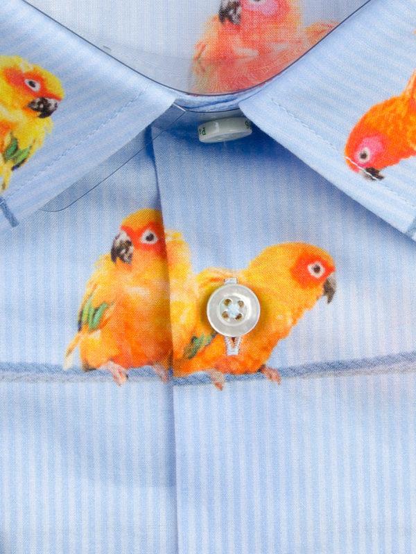 Herrenhemd Birdy - Paul von Alpen