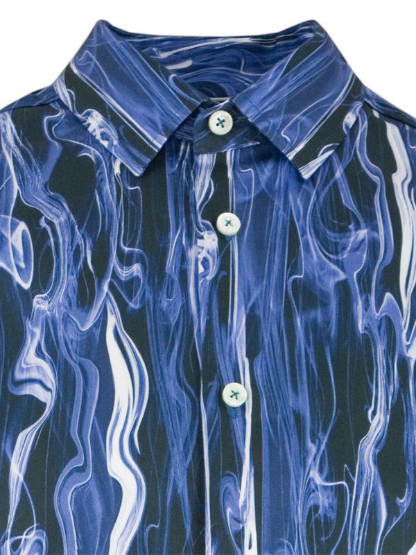 Herrenhemd Blue Smoke - Paul von Alpen - unusual shirts