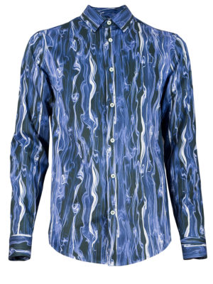 Herrenhemd Blue Smoke - Paul von Alpen - unusual shirt