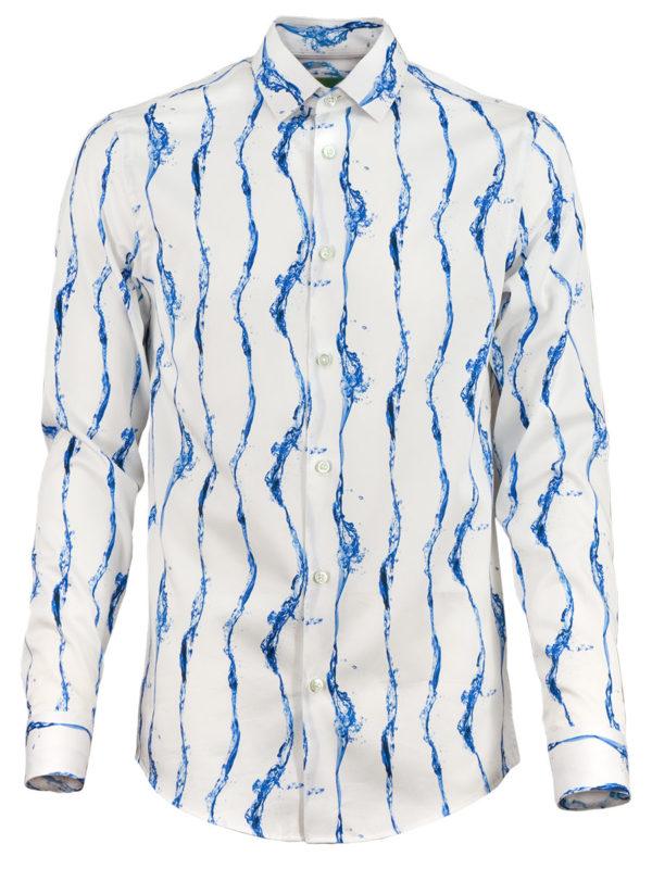 Herrenhemd Pearls of Water - Paul von Alpen