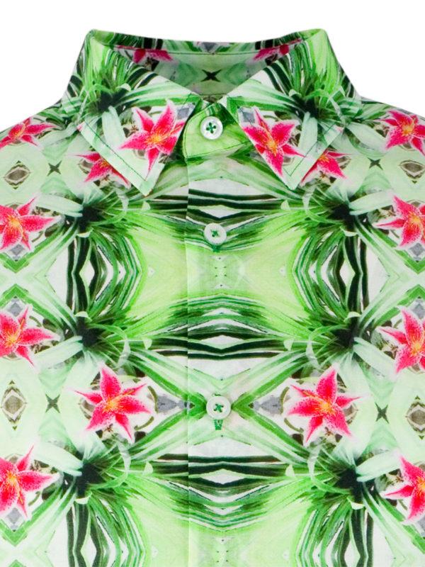 Herrenhemd Psycho Green - Paul von Alpen