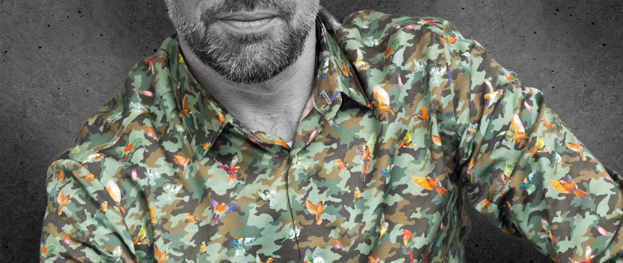 Außergewöhnlichen Herrenhemd Phoenix - Paul von Alpen - Designerhemd - men's shirts - extravante Hemden