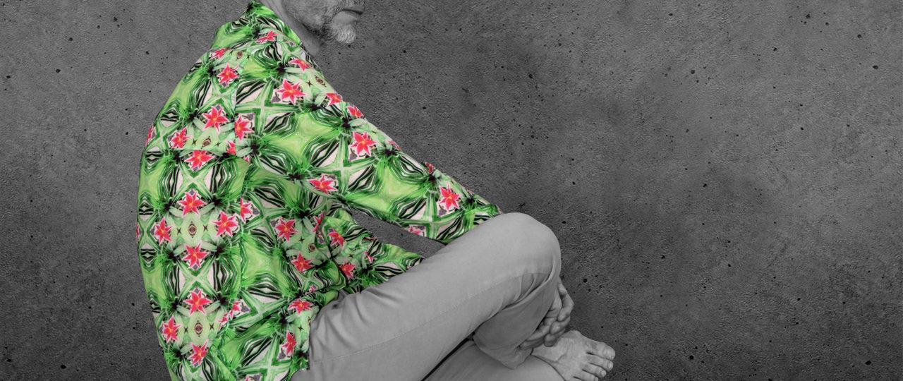 Designhemd Psycho Green - Paul von Alpen - designer shirts