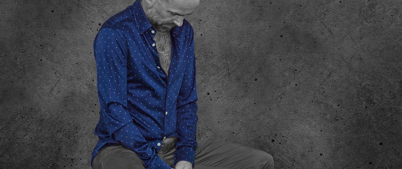 Jerseyhemd Pünktchen - Paul von Alpen - jersey shirts