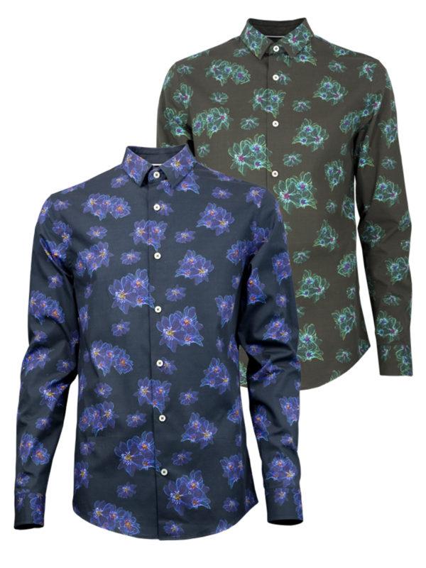 Crystal Fire - Paul von Alpen - Ddesignerhemd - designer shirt - hochwertiges Hemd