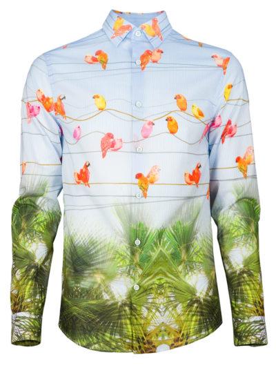 Extravagantes Herrenhemd Birdy - Paul von Alpen - extraordinary shirt