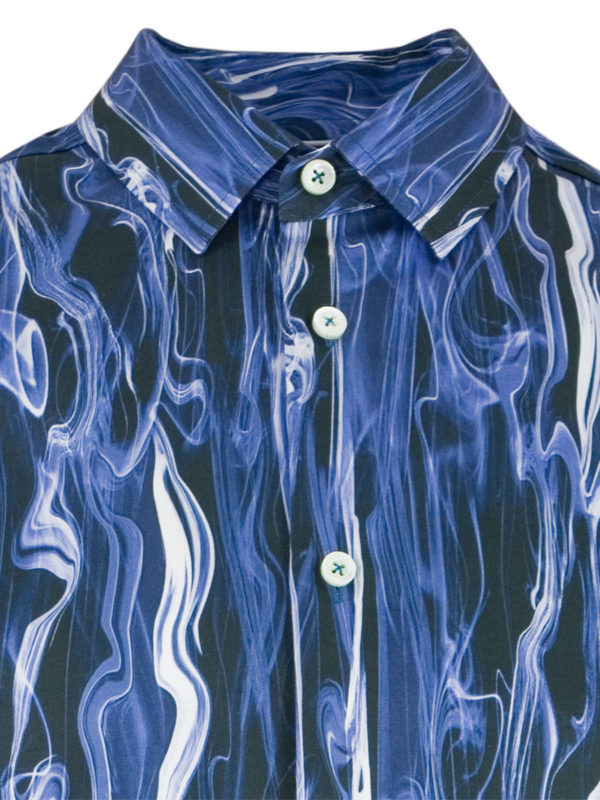 Herrenhemd Blue Smoke - Paul von Alpen - unusual shirts