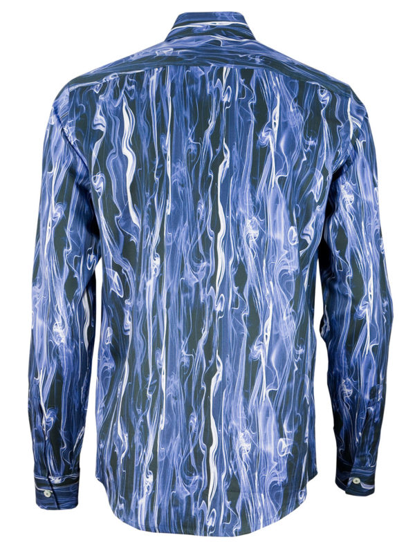 Herrenhemd Blue Smoke - Paul von Alpen - unusual shirt