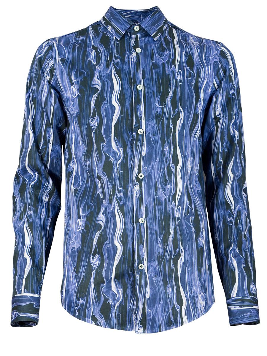 "wholesale dealer b9626 d48f5 Herrenhemd ""Blue Smoke"" | Paul von Alpen"