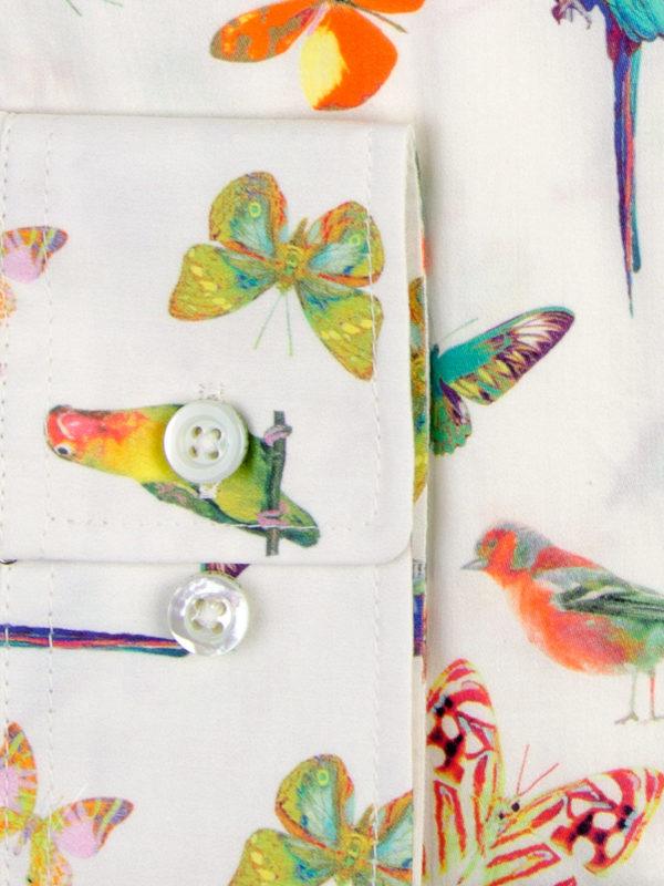 Sommerhemd Butterfly Summer - Paul von Alpen - summer shirt