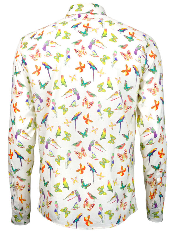 Sommerhemd Butterfly Summer - Paul von Alpen - summer shirt