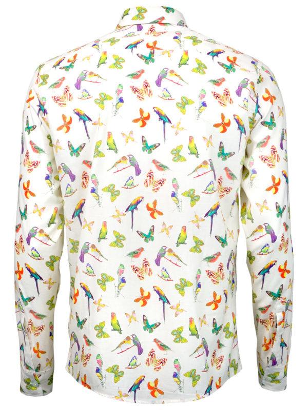 Sommerhemd Butterfly Summer - Paul von Alpen - fashion design shirt