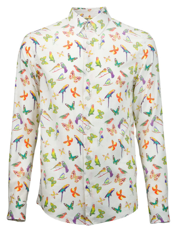 Sommerhemd Butterfly Summer - Paul von Alpen - fashion design shirt