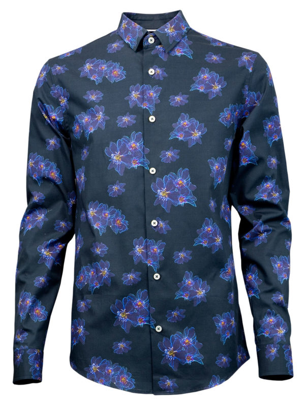 Herrenhemd Crystal Fire - Paul von Alpen - men's shirt - hochwertiges Hemd