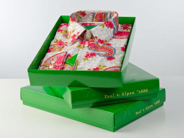Geschenkbox - Paul von Alpen - außergewöhnliche Hemden