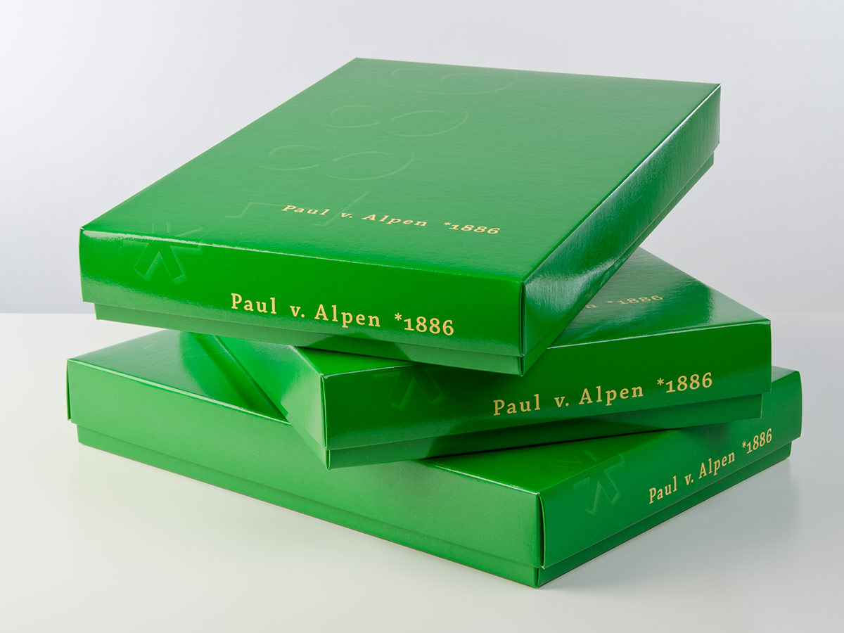 Geschenkbox - Paul von Alpen - exclusive shirts - exklusive Herrenhemden - gift box