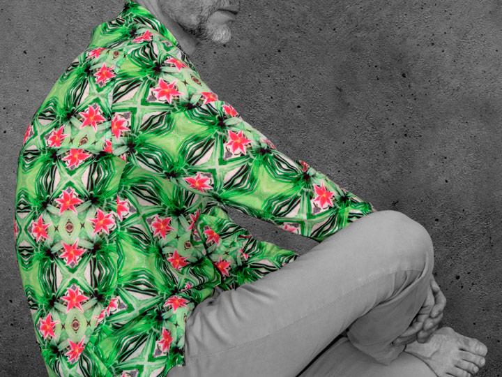 Psycho Green - Paul von Alpen - casual shirts - ausgefallene Hemden