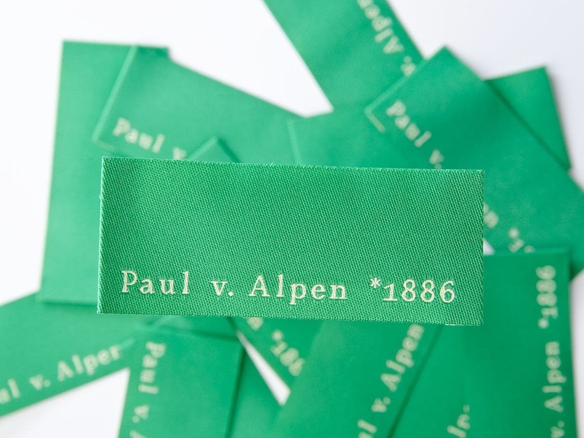 Label - Paul von Alpen