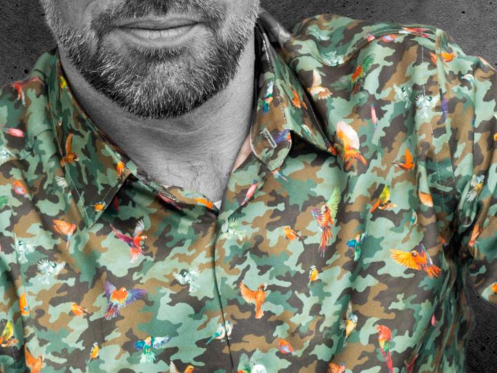 Außergewöhnlichen Herrenhemd Phoenix - Paul von Alpen - men's shirt - Designerhemd - ausgefallene Hemden