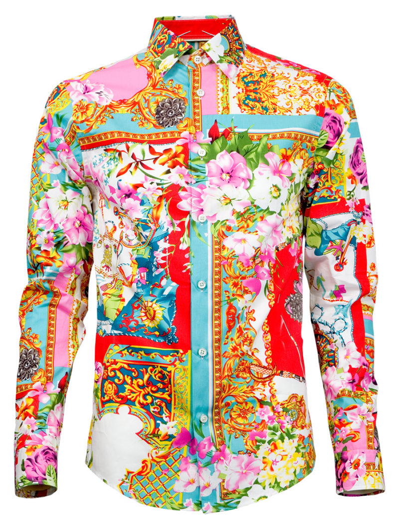 Fancy Herrenhemd Harem - Paul von Alpen - colored shirt - fancy shirts