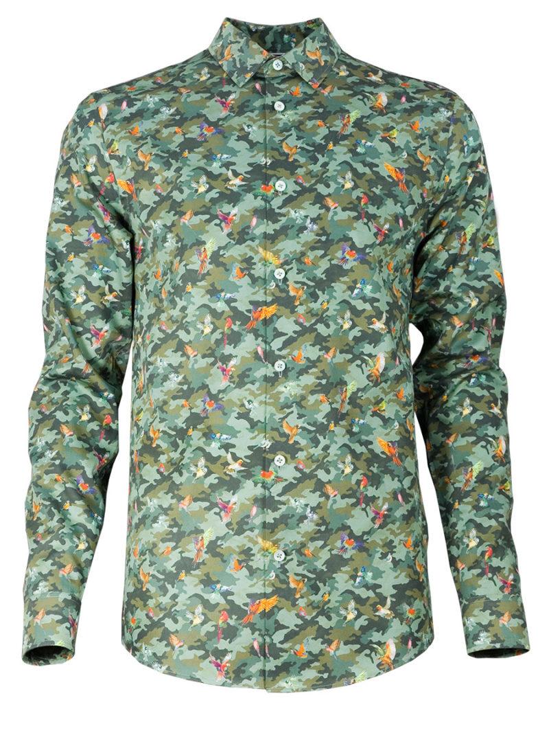 Außergewöhnlichen Herrenhemd Phoenix - Paul von Alpen - men's shirt