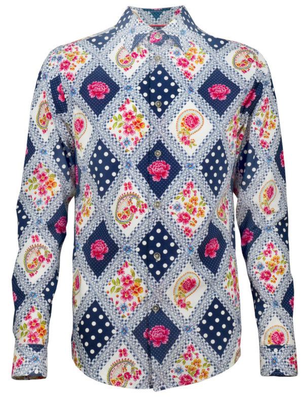 Oktoberfesthemd King of Bavaria - Paul von Alpen - Oktoberfest - edle Trachtenhemden - fashion shirt - Oktoberfest Shirt
