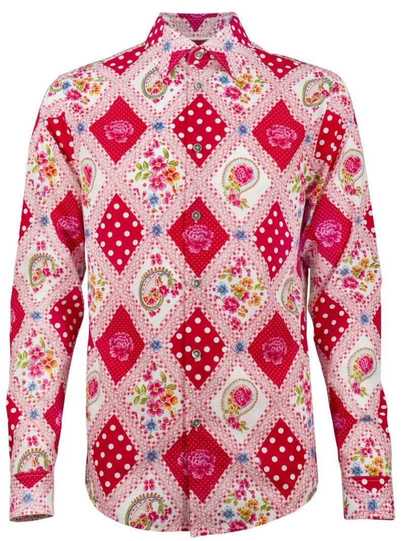 Oktoberfesthemd King of Bavaria - Paul von Alpen - Oktoberfest - edle Trachtenhemden slimfit - fashion shirt - Oktoberfest Shirt