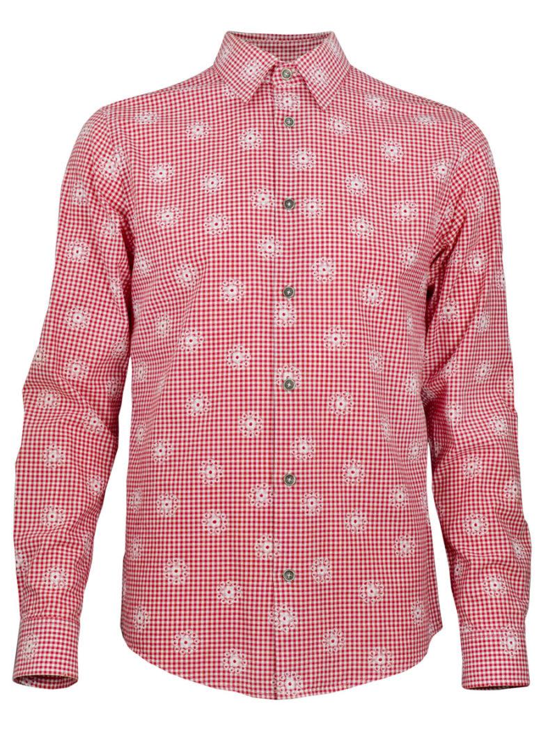 Oktoberfest Mountain Flower - Paul von Alpen - zünftiges Trachtenhemd - Traditional Shirt