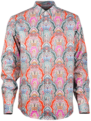 Elegantes Herrenhemd Ornament - Paul von Alpen - elegant shirt