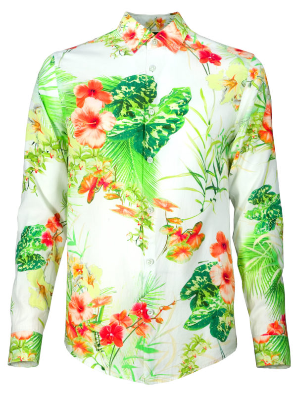 Florales Sommerhemd Joy of Light - Paul von Alpen - summer shirt
