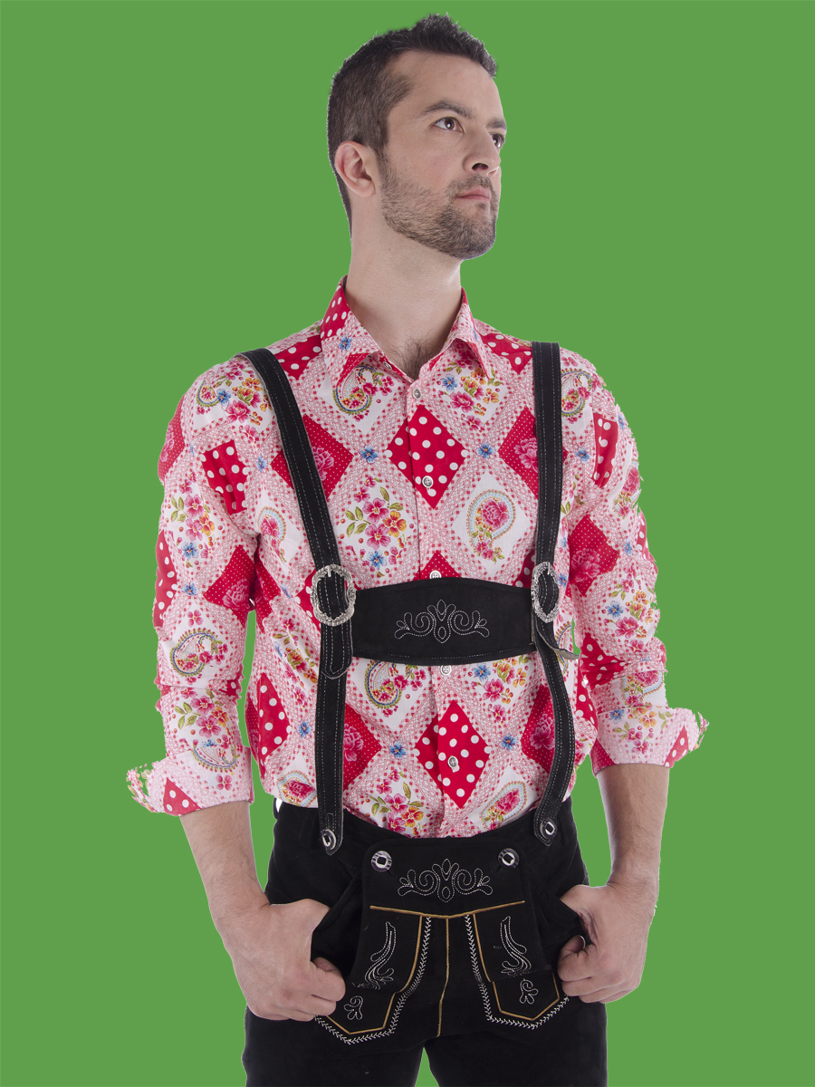 Edle Trachtenhemden - Paul von Alpen - Oktoberfest Hemd - Oktoberfest Shirt