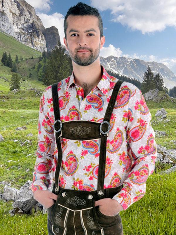 Trachtenhemd Oriental Prince - Paul von Apen - fashion shirt - edle Hemden - Oktoberfest Hemd