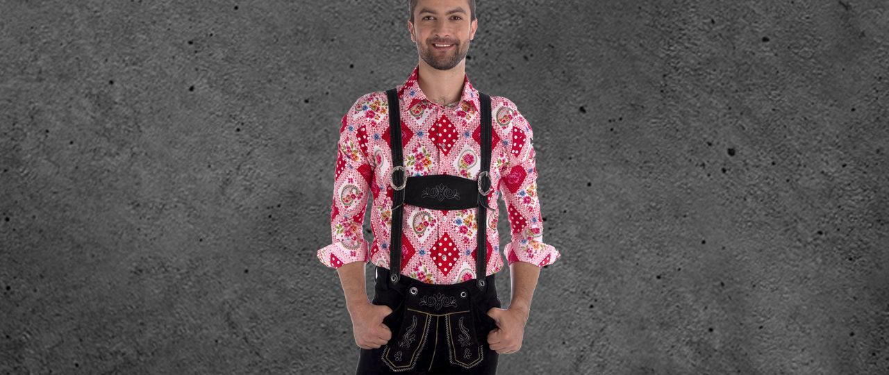 King of Bavaria - Paul von Alpen - Oktoberfesthemd - Oktoberfest -